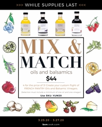 Picture of MIX & MATCH OILS & VINEGARS